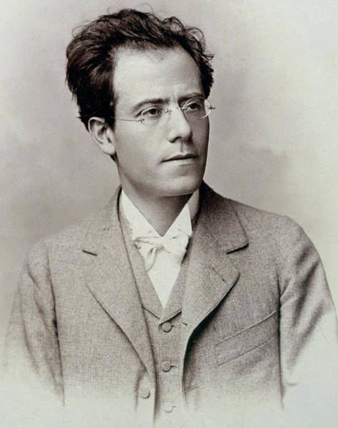Jewish Music Wall Art - Photograph - Portrait Photograph Of Gustav Mahler by Austrian School