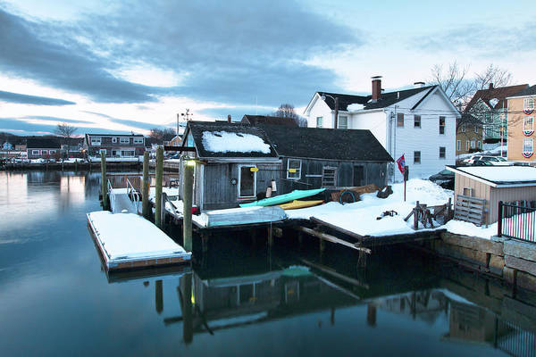 Wall Art - Photograph - Portsmouth Bait Shop by Eric Gendron