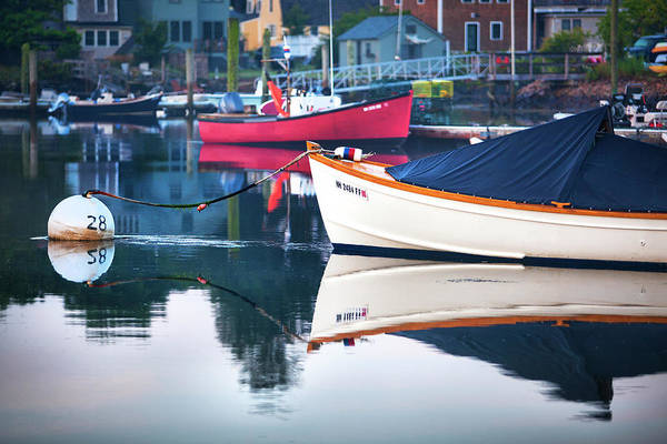 Wall Art - Photograph - Portsmouth Boat Reflections by Eric Gendron