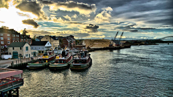Nh Photograph - Portsmouth Harbor by Edward Myers
