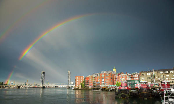 Photograph - Portsmouth Rainbow by Robert Clifford