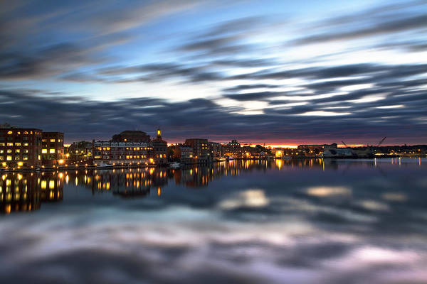 Wall Art - Photograph - Portsmouth Reflections by Eric Gendron