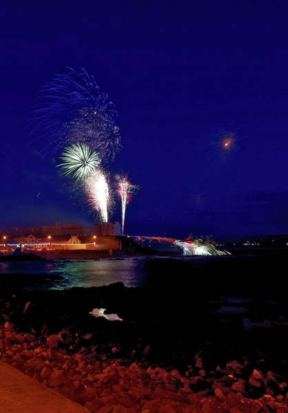 Photograph - Portstewart Fireworks by Colin Clarke