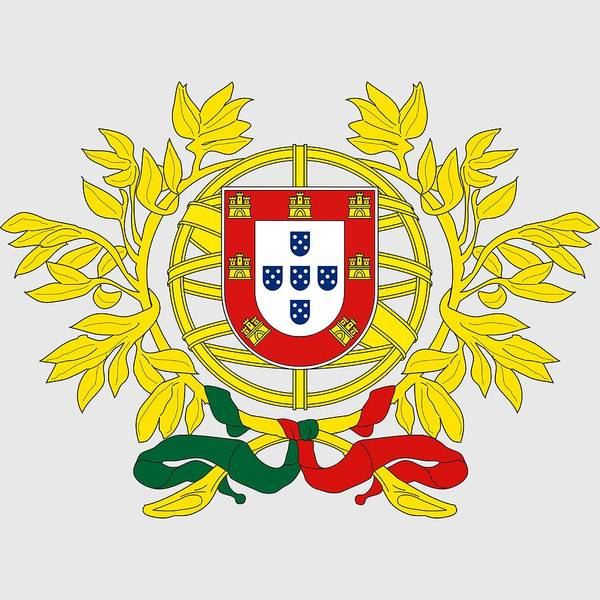 Digital Art - Portugal Coat Of Arms by Movie Poster Prints