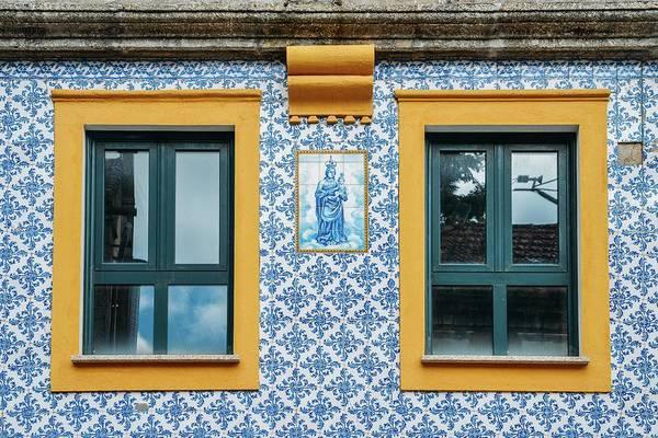 Photograph - Portuguese Azulejo Tiles by Alexandre Rotenberg