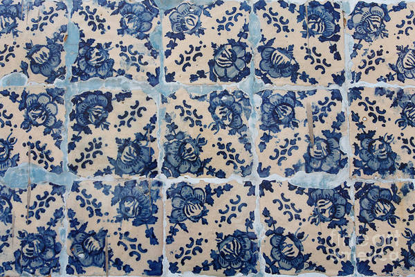 Glazed Tiles Photograph - Portuguese Azulejo Tiles by Gaspar Avila