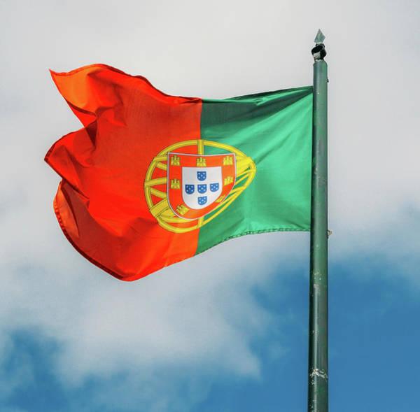 Photograph - Portuguese Flag  by Alexandre Rotenberg