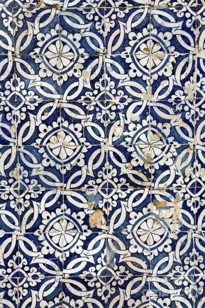 Glazed Tiles Photograph - Portuguese Glazed Tiles by Gaspar Avila