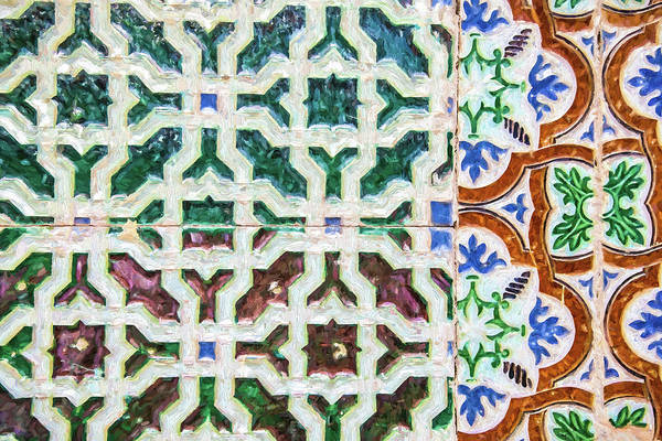 Painting - Portuguese Handmade Tile by David Letts