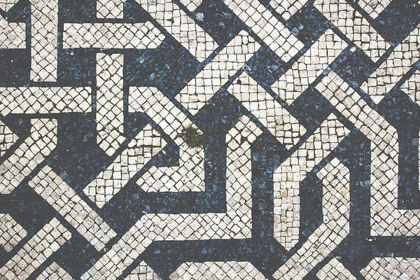 Wall Art - Photograph - Portuguese Pavement At Praca Dos Restauradores by Andre Goncalves