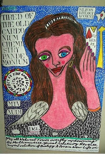 Wall Art - Painting - Porzia Wants To Live by Francesco Martin
