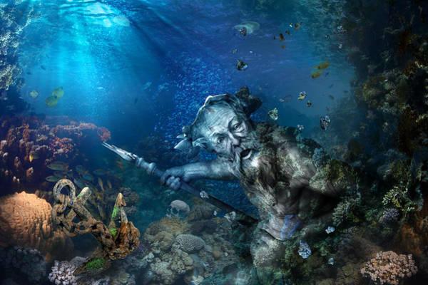 Photograph - Poseidon by Marc Huebner