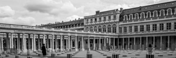 Posing For Photo Shoot At Le Palais Royal Art Print