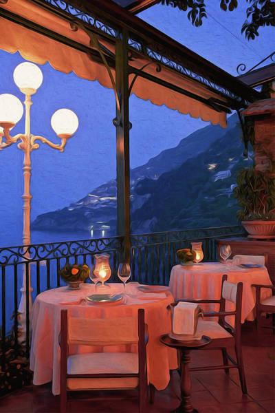 Positano, Beauty Of Italy - 05 Art Print