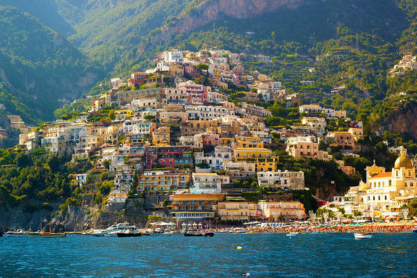 Terrace Photograph - Positano  by Francesco Riccardo  Iacomino
