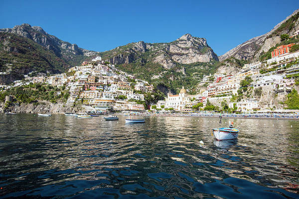 Photograph - Positano From The Bay by Matt Swinden