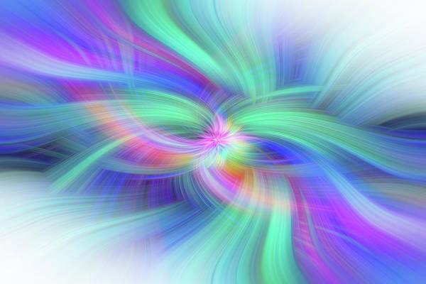 Photograph - Positive Attitude. Mystery Of Colors  by Jenny Rainbow