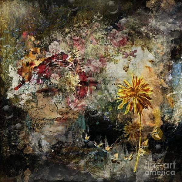 Spirituality Digital Art - Positive Damage ... Growth by Monique Hierck