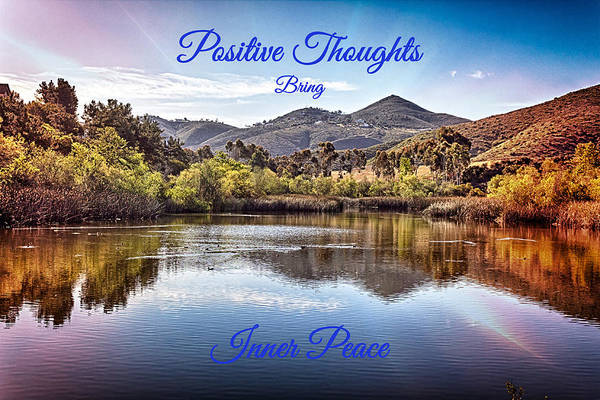 Photograph - Positive Thoughts  by Alison Frank