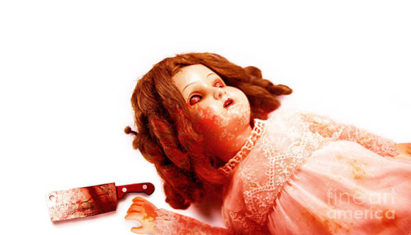 Horrible Photograph - Possessed Evil Doll by Jorgo Photography - Wall Art Gallery