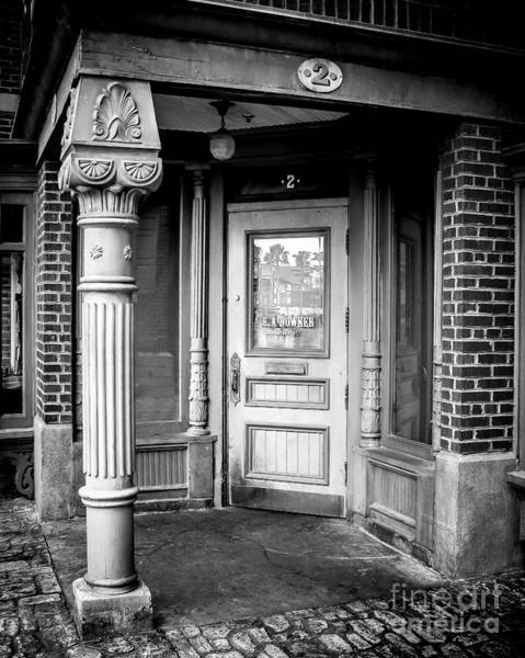 Wall Art - Photograph - Post And Door by Perry Webster