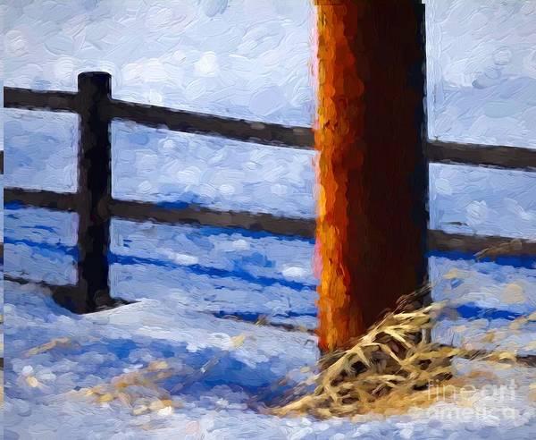 Ish Wall Art - Photograph - Post And Pole by Bob Lentz
