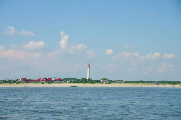 Photograph - Post Card Perfect - Cape May Lighthouse by Bill Cannon