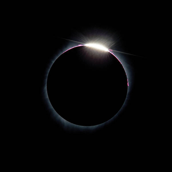 Photograph - Post Diamond Ring Effect by Bryan Carter