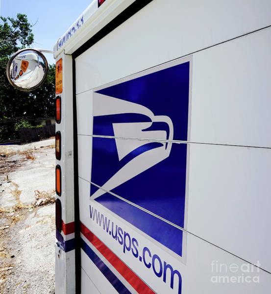 Wall Art - Photograph - Post Office Truck by Kenneth Lempert