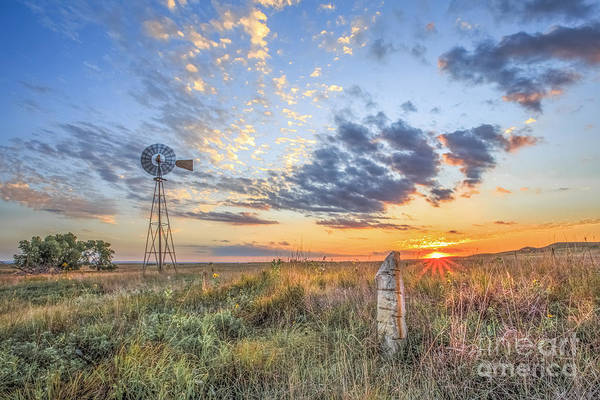 Fence Post Photograph - Post Rock Country by Jill Van Doren Rolo