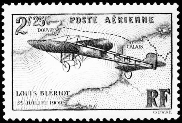 Bleriot Photograph - Postage Stamp: Bleriot by Granger