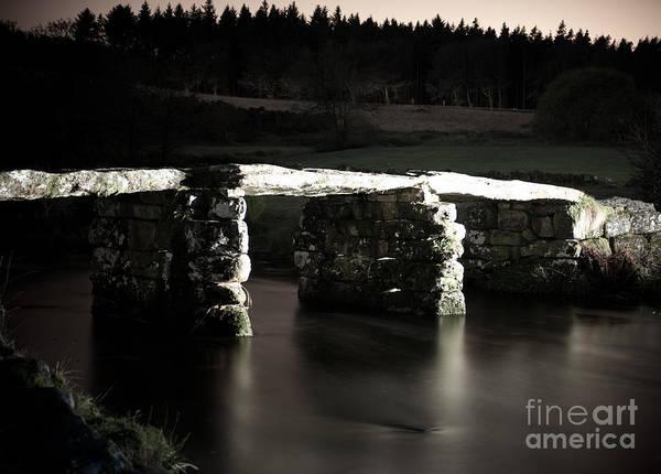 Photograph - Postbrige Clapper Bridge by Helen Northcott