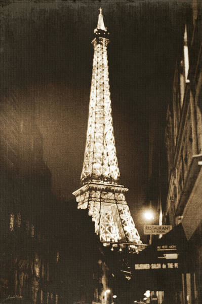 Wall Art - Photograph - Postcard From Paris- Art By Linda Woods by Linda Woods