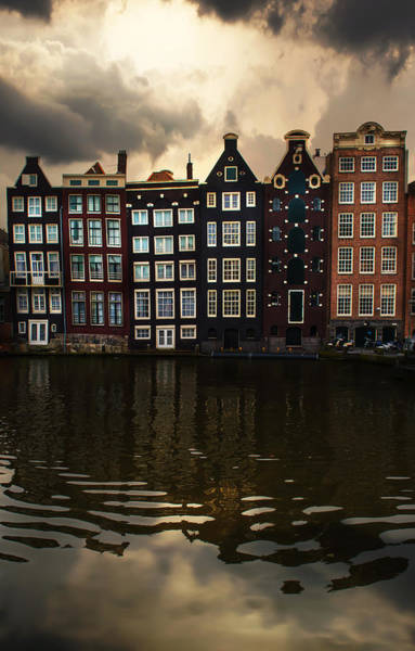 Famous Wall Art - Photograph - Postcards From Amsterdam by Jaroslaw Blaminsky
