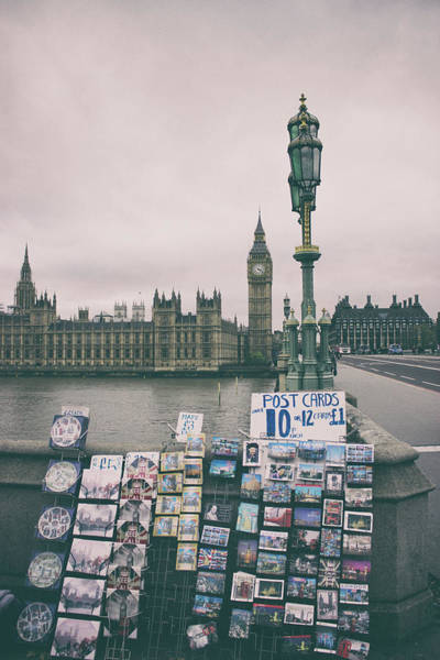 Wall Art - Photograph - Postcards From Westminster by Martin Newman