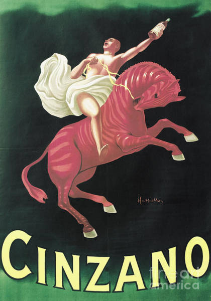 Wall Art - Painting - Poster Advertising Cinzano, 1925  by Leonetto Cappiello
