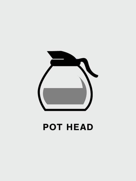 Digital Art - Pot Head by Nancy Ingersoll