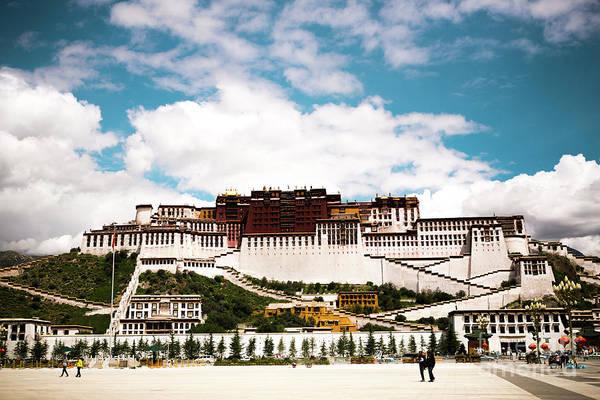 Kora Wall Art - Photograph - Potala Palace Dalai Lama Home Place In Tibet Kailash Yantra.lv 2016  by Raimond Klavins