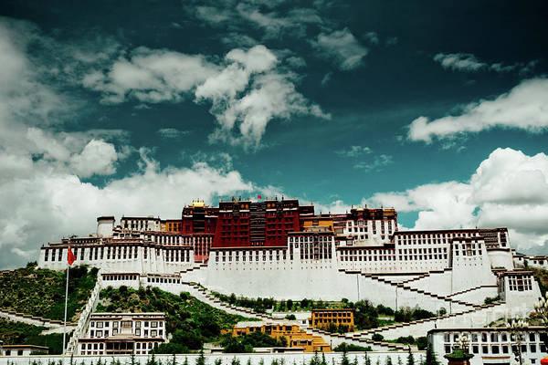 Photograph - Potala Palace. Lhasa, Tibet. Artmif.lv by Raimond Klavins