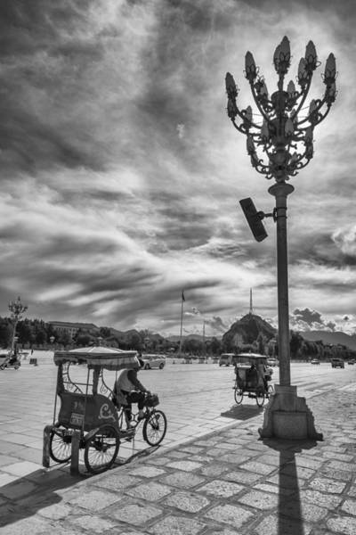 Photograph - Potala Square by Hitendra SINKAR