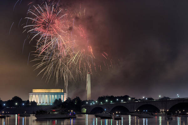 Independence Photograph - Potomac Party by Robert Fawcett