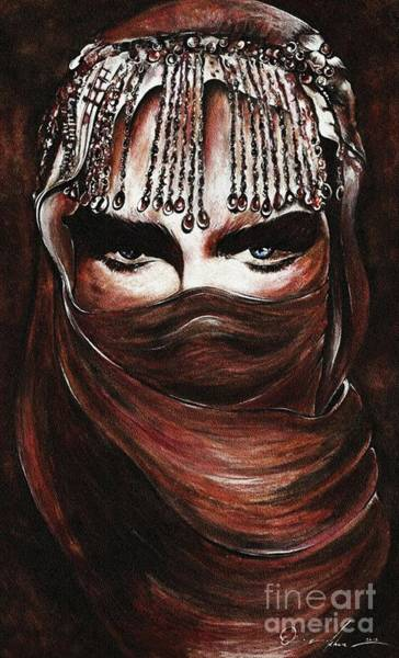 Painting - Hijab by Qasir Z Khan