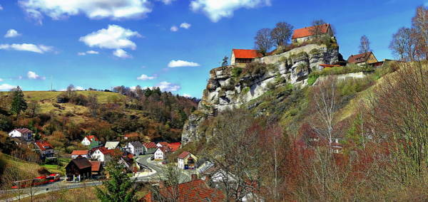 Photograph - Pottenstein Castle by Anthony Dezenzio