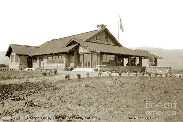 Photograph - Potter Club, Santa Barbara, Calif. Circa 1915 by California Views Archives Mr Pat Hathaway Archives