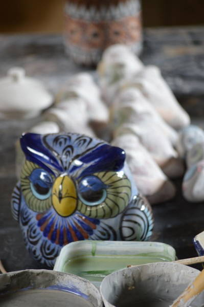 Photograph - Pottery Bird by Bill Hamilton