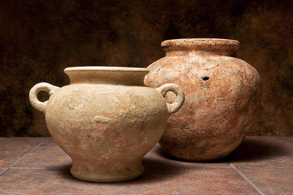 Clay Pot Photograph - Pottery I by Tom Mc Nemar