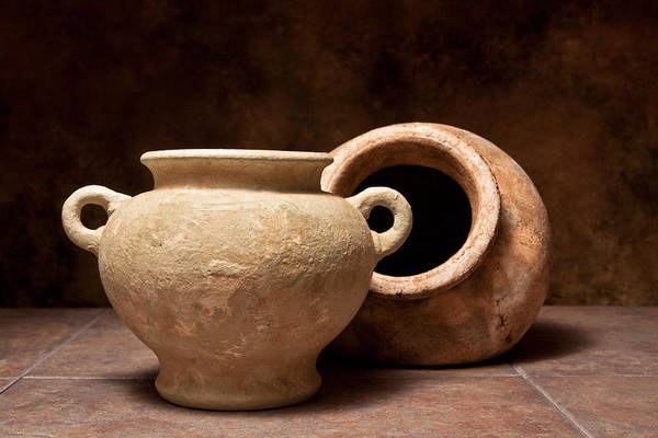 Clay Pot Photograph - Pottery II by Tom Mc Nemar