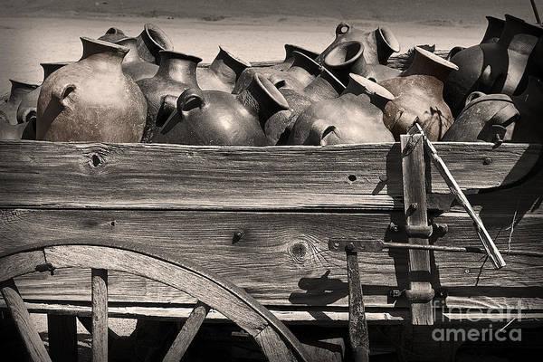 Wall Art - Photograph - Pottery Wagon by Tim Hightower
