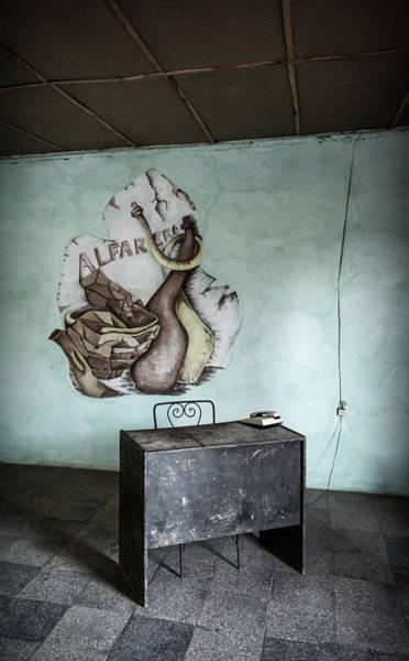 Wall Art - Photograph - Pottery Workshop Trinidad Cuba by Joan Carroll