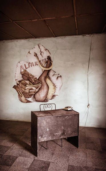 Wall Art - Photograph - Pottery Workshop Trinidad Cuba Warm by Joan Carroll